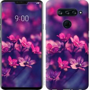 Чехол на Sony Xperia 10 Plus I4213 Пурпурные цветы