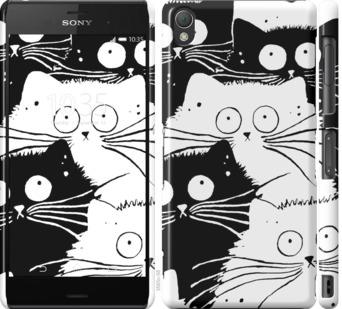Чехол на Sony Xperia Z3 D6603 Коты v2