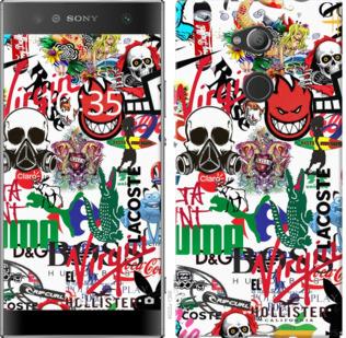 Чехол на Sony Xperia XA2 Ultra H4213 Many different logos
