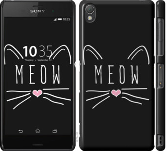 Чехол на Sony Xperia Z3 dual D6633 Kitty