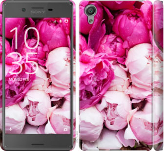 Чехол на Sony Xperia X F5122 Розовые пионы