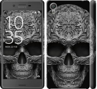 Чехол на Sony Xperia X F5122 skull-ornament