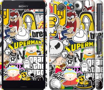 Чехол на Sony Xperia Z3 Compact D5803 Popular logos