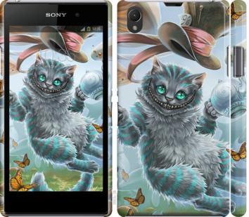 Чехол на Sony Xperia Z1 C6902 Чеширский кот 2