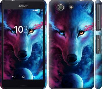 Чехол на Sony Xperia Z3 Compact D5803 Арт-волк