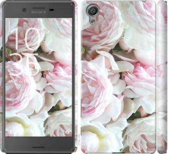 Чехол на Sony Xperia X F5122 Пионы v2