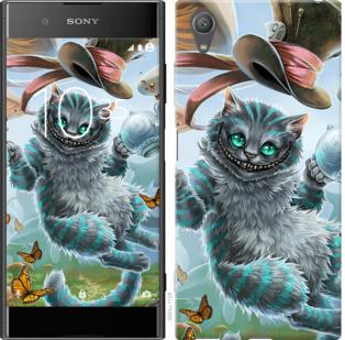 Чехол на Sony Xperia XA1 Plus G3412 Чеширский кот 2