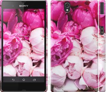 Чехол на Sony Xperia Z C6602 Розовые пионы