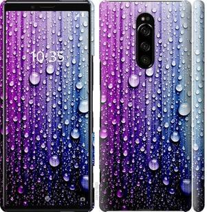 Чехол на Sony Xperia 1 J9110 Капли воды
