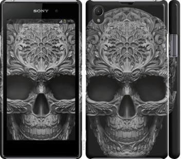 Чехол на Sony Xperia Z1 C6902 skull-ornament