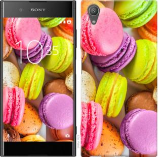 Чехол на Sony Xperia XA1 Plus G3412 Макаруны