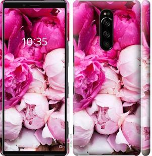 Чехол на Sony Xperia 1 J9110 Розовые пионы