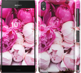 Чехол на Sony Xperia Z3 D6603 Розовые пионы