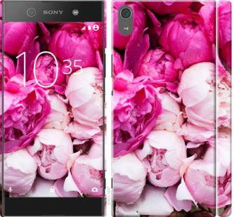 Чехол на Sony Xperia XA1 Ultra G3212 Розовые пионы