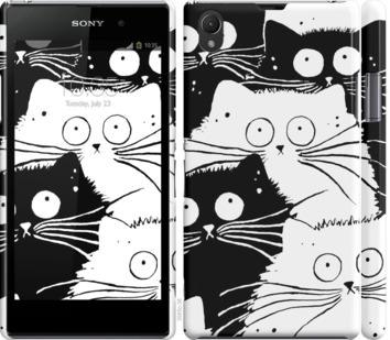Чехол на Sony Xperia Z1 C6902 Коты v2