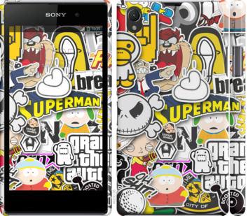 Чехол на Sony Xperia Z1 C6902 Popular logos