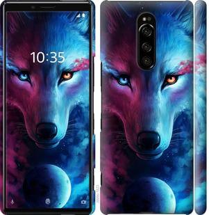 Чехол на Sony Xperia XZ4 Арт-волк