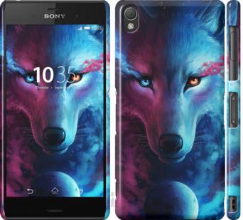 Чехол на Sony Xperia Z3 dual D6633 Арт-волк