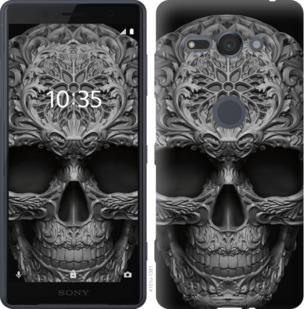 Чехол на Sony Xperia XZ2 Compact H8324 skull-ornament