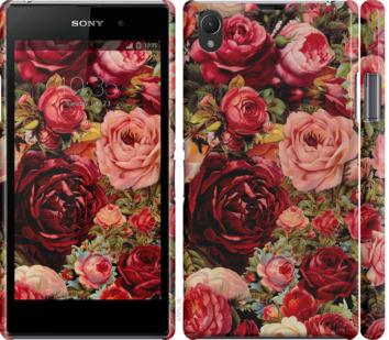 Чехол на Sony Xperia Z1 C6902 Цветущие розы