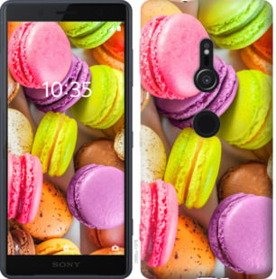 Чехол на Sony Xperia XZ2 H8266 Макаруны