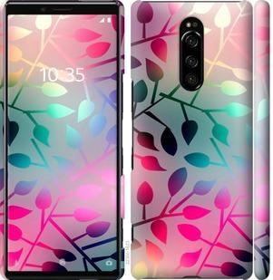 Чехол на Sony Xperia XZ4 Листья