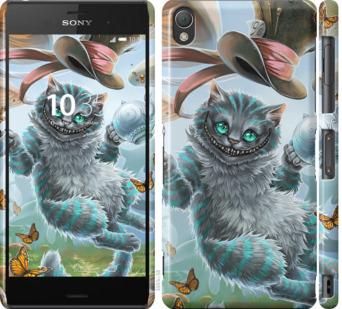 Чехол на Sony Xperia Z3 D6603 Чеширский кот 2