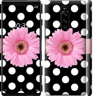 Чехол на Sony Xperia 1 J9110 Горошек 2