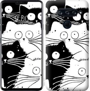 Чехол на Sony Xperia 10 I4113 Коты v2