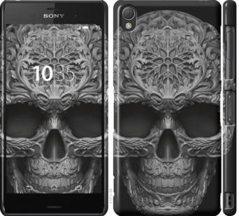 Чехол на Sony Xperia Z3 dual D6633 skull-ornament