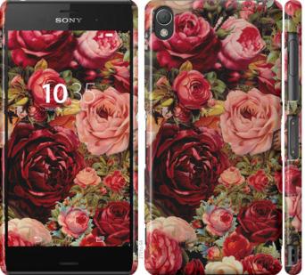 Чехол на Sony Xperia Z3 D6603 Цветущие розы