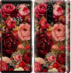 Чехол на Sony Xperia 1 J9110 Цветущие розы