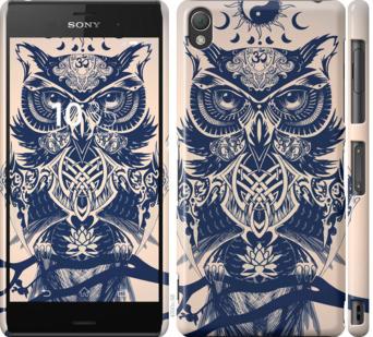 Чехол на Sony Xperia Z3 D6603 Узорчатая сова