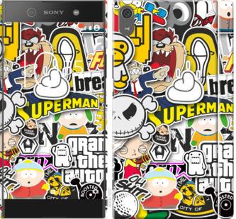 Чехол на Sony Xperia XA1 Ultra G3212 Popular logos
