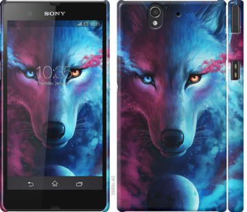 Чехол на Sony Xperia Z C6602 Арт-волк