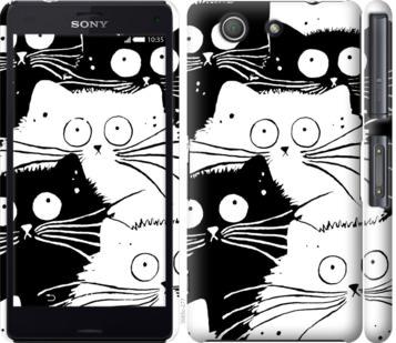 Чехол на Sony Xperia Z3 Compact D5803 Коты v2