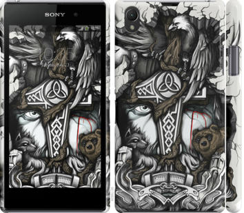 Чехол на Sony Xperia Z1 C6902 Тату Викинг