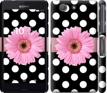 Чехол на Sony Xperia Z3 Compact D5803 Горошек 2