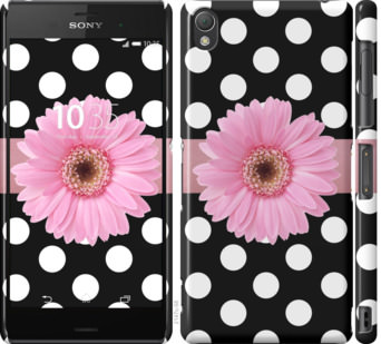 Чехол на Sony Xperia Z3 dual D6633 Горошек 2