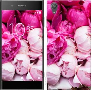 Чехол на Sony Xperia XA1 Plus G3412 Розовые пионы