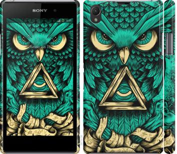 Чехол на Sony Xperia Z1 C6902 Сова Арт-тату