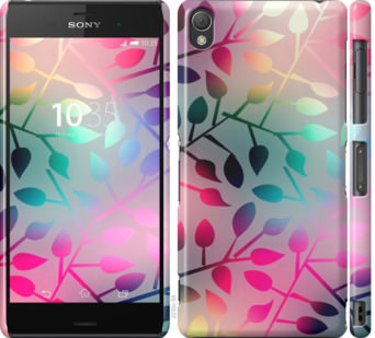 Чехол на Sony Xperia Z3 D6603 Листья