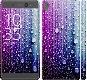Чехол на Sony Xperia XA F3112 Капли воды