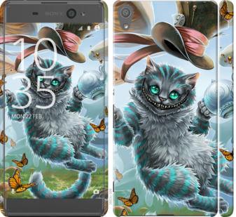 Чехол на Sony Xperia XA F3112 Чеширский кот 2
