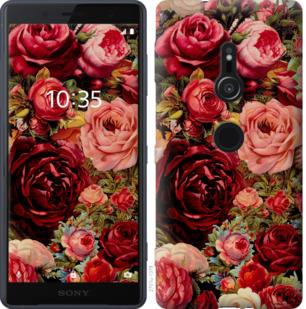 Чехол на Sony Xperia XZ2 H8266 Цветущие розы