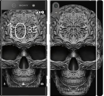 Чехол на Sony Xperia XA1 Ultra G3212 skull-ornament
