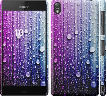 Чехол на Sony Xperia Z3 dual D6633 Капли воды