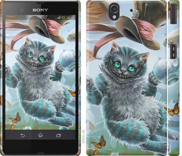 Чехол на Sony Xperia Z C6602 Чеширский кот 2