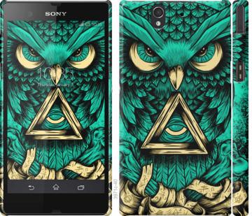 Чехол на Sony Xperia Z C6602 Сова Арт-тату