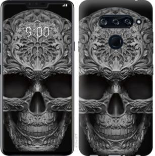 Чехол на Sony Xperia 10 Plus I4213 skull-ornament